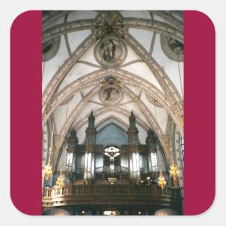ロンドン教会 スクエアシール
