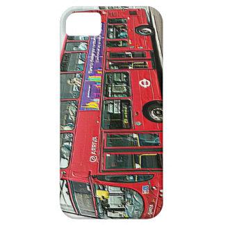ロンドン橋の二重デッカーバス iPhone SE/5/5s ケース