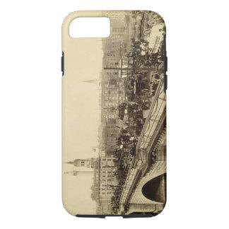 ロンドン橋、c.1880 (セピア色の写真) iPhone 8/7ケース