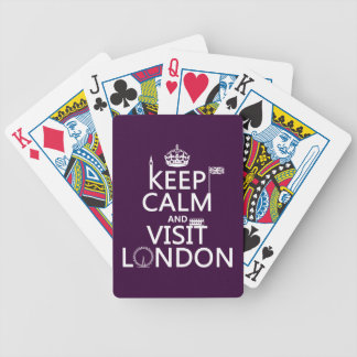 ロンドン穏やか、訪問保って下さい バイスクルトランプ