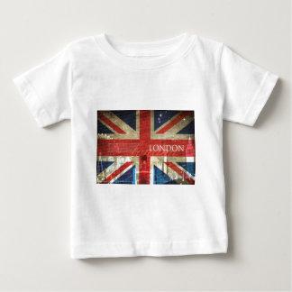 ロンドン英国国旗 ベビーTシャツ