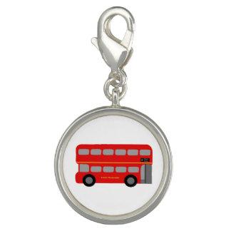 ロンドン赤いバス チャーム