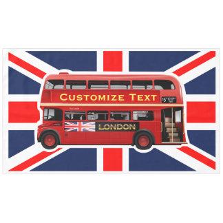 ロンドン赤いバス テーブルクロス