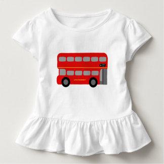 ロンドン赤いバス トドラーTシャツ