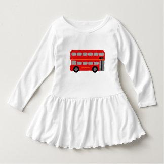 ロンドン赤いバス ドレス
