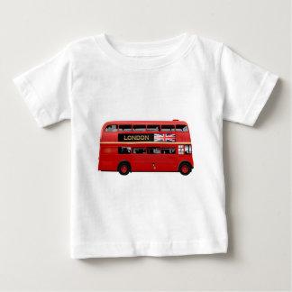 ロンドン赤いバス ベビーTシャツ