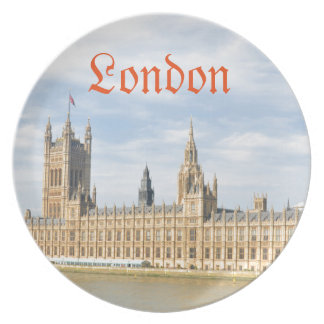 ロンドン、イギリスのウエストミンスター プレート