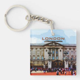 ロンドン、イギリスのバッキンガム宮殿 キーホルダー