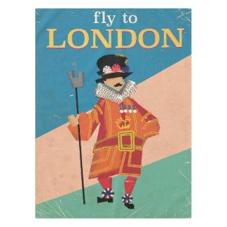 ロンドン、イギリスのヴィンテージ旅行ポスター テーブルクロス