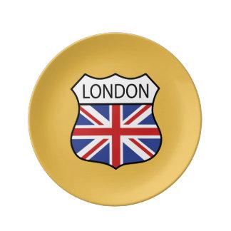 ロンドン(イギリス) 磁器プレート