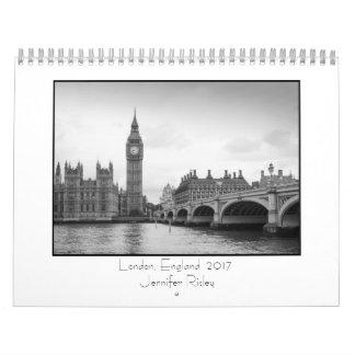 ロンドン、イギリス- 2017カレンダー カレンダー
