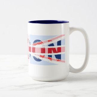 ロンドン ツートーンマグカップ
