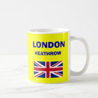 ロンドン・ヒースロー空港LHRコードマグ コーヒーマグカップ