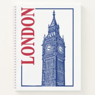 ロンドン、ビッグベン ノートブック