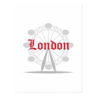ロンドン ポストカード