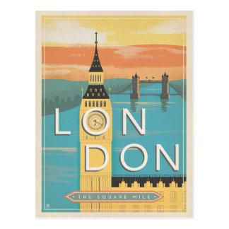 ロンドン-平方マイル ポストカード