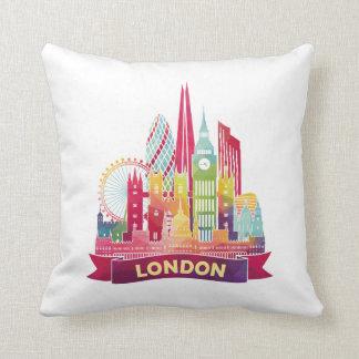 ロンドン-有名な陸標への旅行 クッション