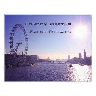 ロンドン|目 チラシ広告