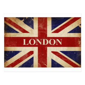 ロンドン-英国国旗- I愛ロンドン ポストカード