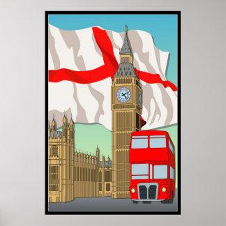 ロンドンVecterの芸術の壁ポスターか組み立てられたプリント ポスター