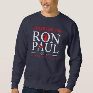 ロン・ポールのワイシャツのための退役軍人 スウェットシャツ