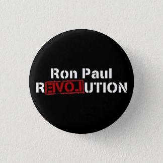 ロン・ポールの反対の革命 3.2CM 丸型バッジ