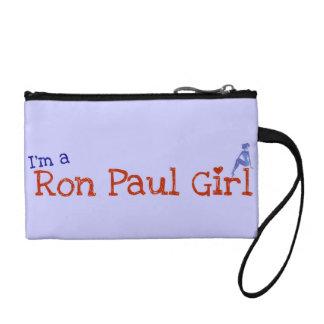 ロン・ポールの女の子の手首のクラッチ コインパース