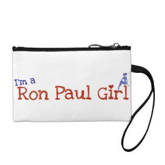 ロン・ポールの女の子のWrisのtclutch コインパース
