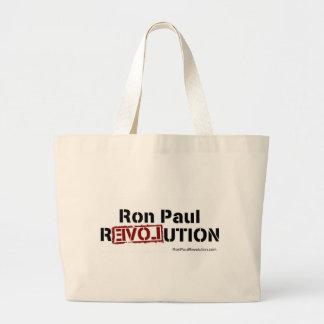 ロン・ポールの改革のバッグ ラージトートバッグ