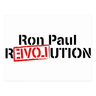 ロン・ポールの改革は続きます ポストカード