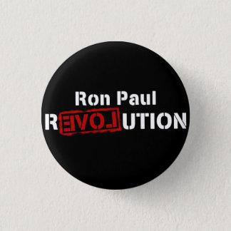 ロン・ポールの改革ボタンPinのinverseのロゴ 3.2cm 丸型バッジ