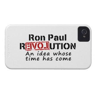 ロン・ポールの革命時間が来たアイディア Case-Mate iPhone 4 ケース