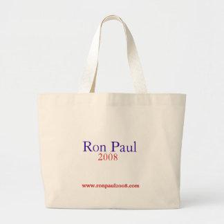 ロン・ポール2008のバッグ ラージトートバッグ