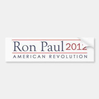 ロン・ポール2012のアメリカ革命 バンパーステッカー