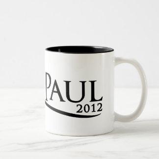 ロン・ポール2012のカーブのマグ ツートーンマグカップ