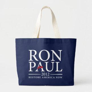 ロン・ポール2012のバッグ ラージトートバッグ