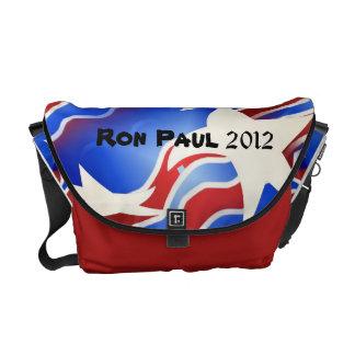 ロン・ポール2012の愛国心が強いメッセンジャーバッグ メッセンジャーバッグ