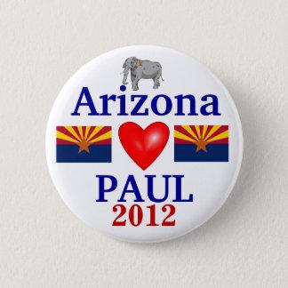 ロン・ポール2012年のアリゾナ 缶バッジ