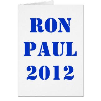 ロン・ポール2012年 カード