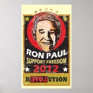 ロン・ポール2012年 ポスター