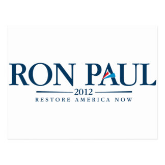 ロン・ポール2012年 ポストカード