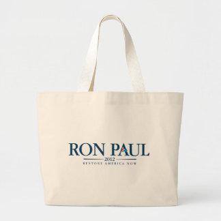 ロン・ポール2012年 ラージトートバッグ
