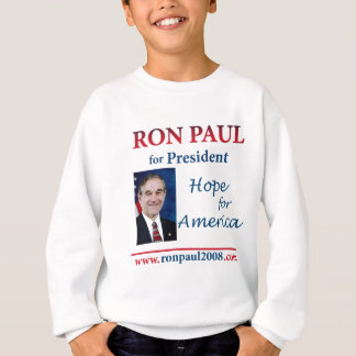 ロン・ポール-アメリカ24 x 24のための希望 スウェットシャツ