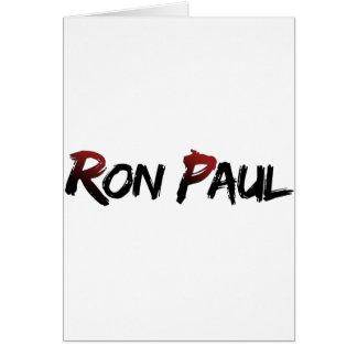 ロン・ポール!!!! カード