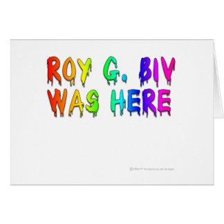 ローイG. Biv Graffiti カード