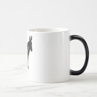 ローカルガーンジーのろば色の変更のマグ モーフィングマグカップ