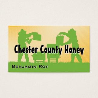 ローカル郡養蜂家の蜂蜜 名刺
