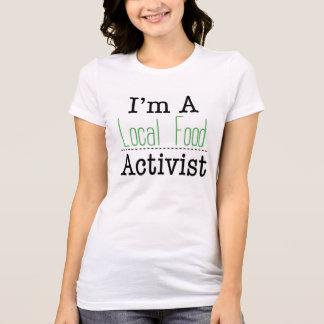 ローカル食糧活動家のTシャツ Tシャツ