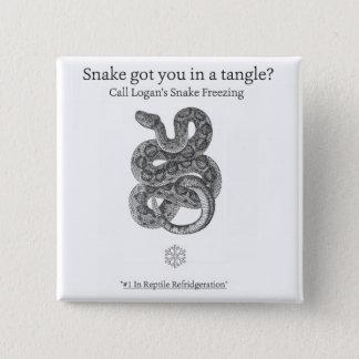 ローガンのヘビの凍結ボタンII 缶バッジ