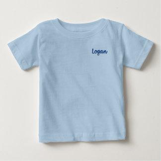 ローガンのベビーの罰金のジャージーのTシャツ ベビーTシャツ
